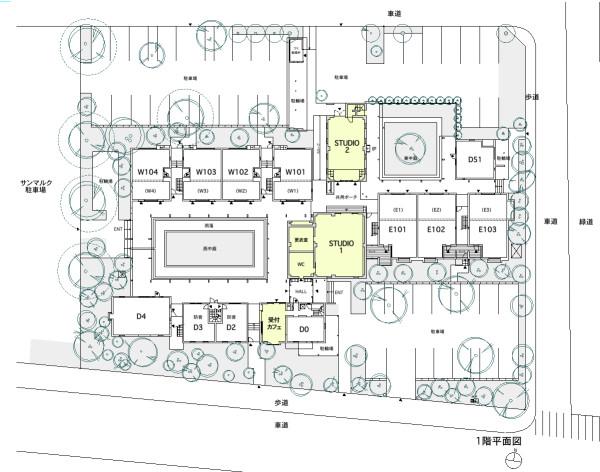 蒲生HP用配置図1階140918